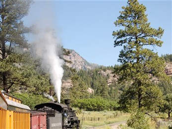 Colorado Rockies train