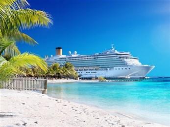 cruise ship palm trees