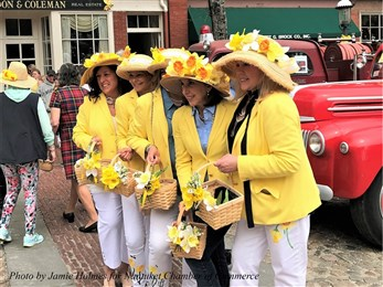 Ladies at Nantucket Daffodil Festival