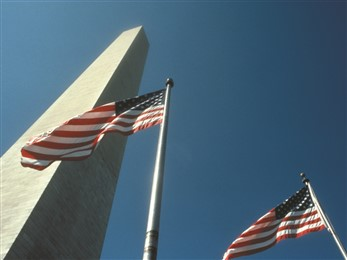 flags washington dc