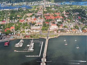 St Augustine Aerial by Stacey Sather