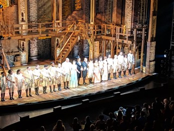 Hamilton curtain call