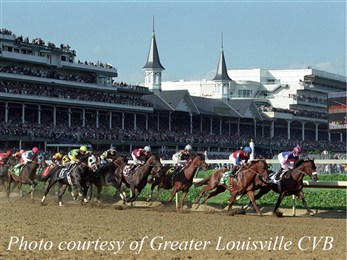 Churchill Downs race