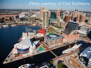 Baltimore aerial