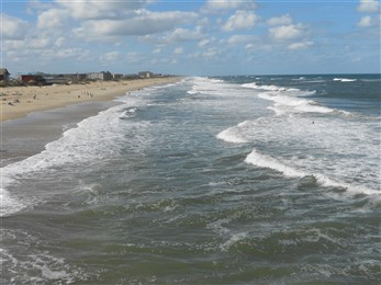 Outer Banks surf