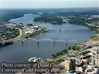 Quad cities river