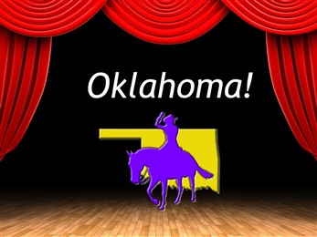 Oklahoma cowboy outline