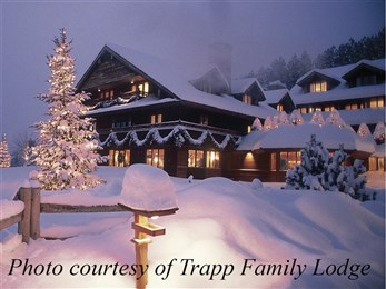 Trapp Family Lodge snow